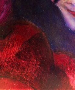 daphne-ferreira-oilpainting-Life-is-a-stage-detail2