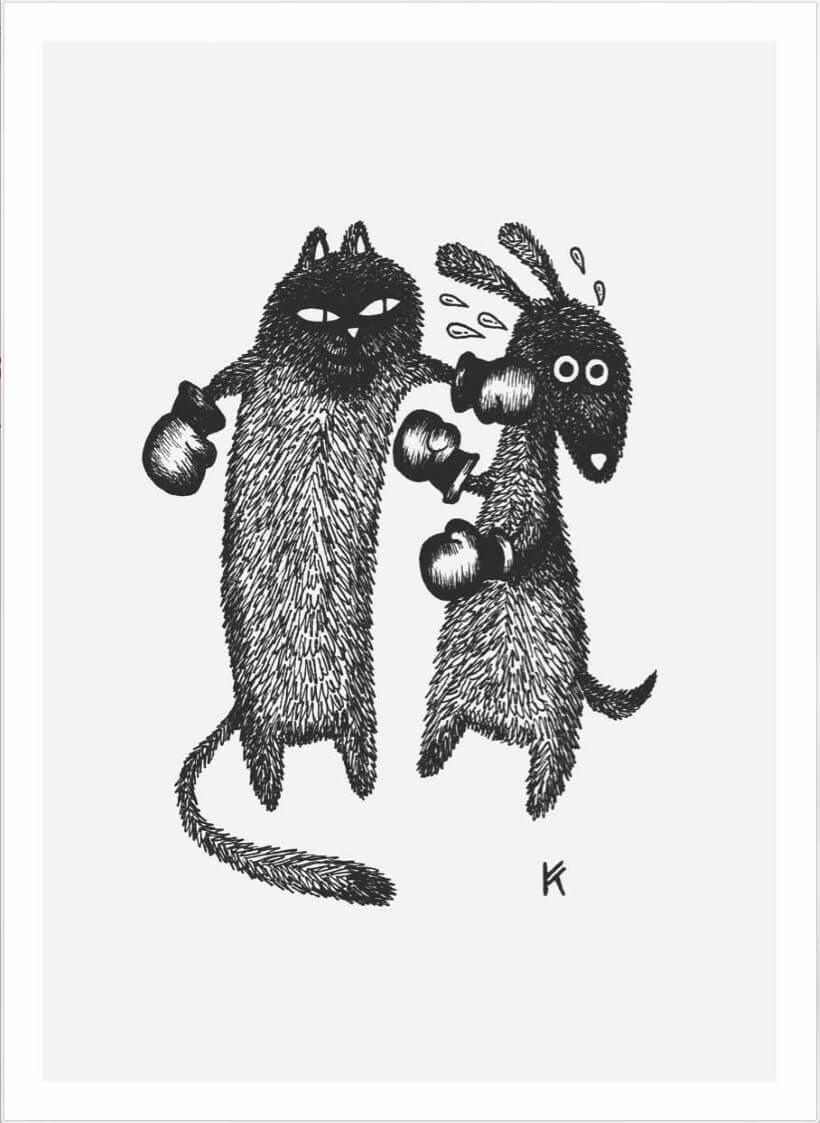 Leef soos kat en hond